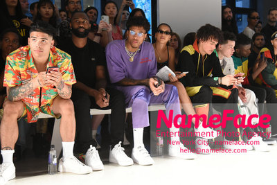 LANDLORD Spring/Summer 2019 RUNWAY SHOW - Mens NYFW - Front Row Kelly Oubre Jr. - NameFace Photo Agency New York City - hello@nameface.com - nameface.com - Photo by Daniela Kirsch
