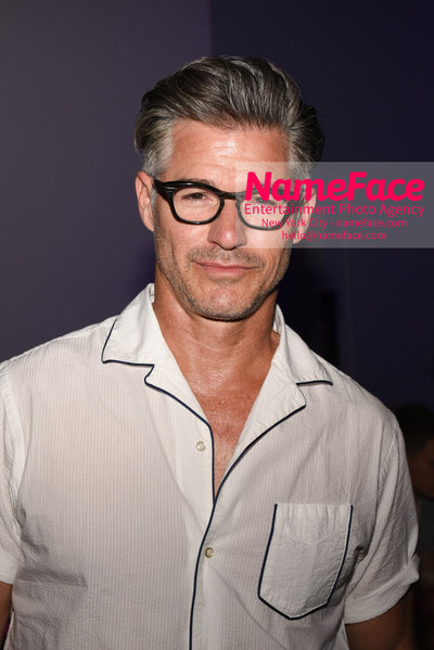 Feng Chen Wang Runway Show SS19  - NYFW Mens - Front Row Eric Rutherford - NameFace Photo Agency New York City - hello@nameface.com - nameface.com - Photo by Daniela Kirsch