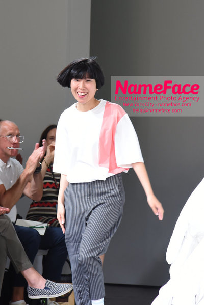 Feng Chen Wang Runway Show SS19  - NYFW Mens - Front Row Feng Chen Wang - NameFace Photo Agency New York City - hello@nameface.com - nameface.com - Photo by Daniela Kirsch