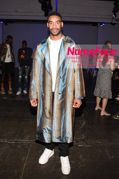Feng Chen Wang Runway Show SS19  - NYFW Mens - Front Row Zeke Thomas - NameFace Photo Agency New York City - hello@nameface.com - nameface.com - Photo by Daniela Kirsch