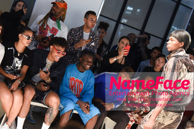 WOODHOUSE Army SS19 Show - Mens NYFW - Front Row Kelly Oubre Jr. - NameFace Photo Agency New York City - hello@nameface.com - nameface.com - Photo by Daniela Kirsch