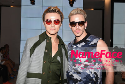 WOODHOUSE Army SS19 Show - Mens NYFW - Front Row R. Kurt Osenlund - NameFace Photo Agency New York City - hello@nameface.com - nameface.com - Photo by Daniela Kirsch