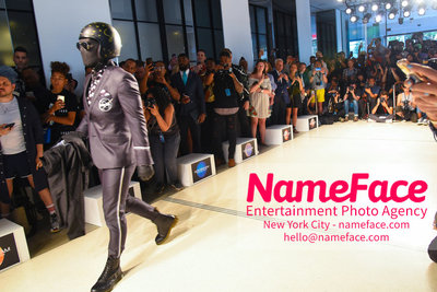 Nick Graham Runway Show SS19 - Mens NYFW - Front Row and Show Landon Griffin - NameFace Photo Agency New York City - hello@nameface.com - nameface.com - Photo by Daniela Kirsch