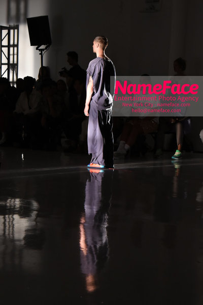 N.HOOLYWOOD SS19 Fashion Show - Mens NYFW - Front Row and Show Atmosphere - NameFace Photo Agency New York City - hello@nameface.com - nameface.com - Photo by Daniela Kirsch