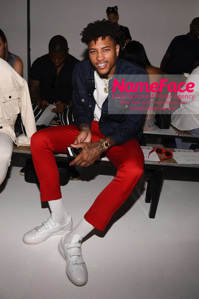 N.HOOLYWOOD SS19 Fashion Show - Mens NYFW - Front Row and Show Kelly Oubre Jr. - NameFace Photo Agency New York City - hello@nameface.com - nameface.com - Photo by Daniela Kirsch