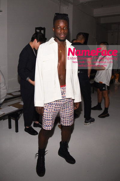 N.HOOLYWOOD SS19 Fashion Show - Mens NYFW - Front Row and Show Thutmose - NameFace Photo Agency New York City - hello@nameface.com - nameface.com - Photo by Daniela Kirsch