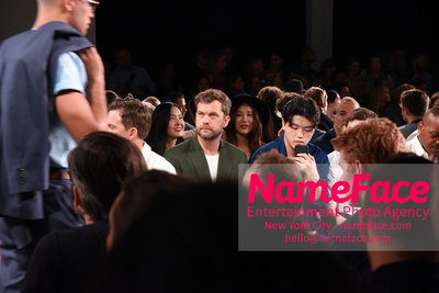 Todd Snyder Runway Show SS19 - Mens News York Fashion Week Joshua Jackson and Alex Shibutani - NameFace Photo Agency New York City - hello@nameface.com - nameface.com - Photo by Daniela Kirsch