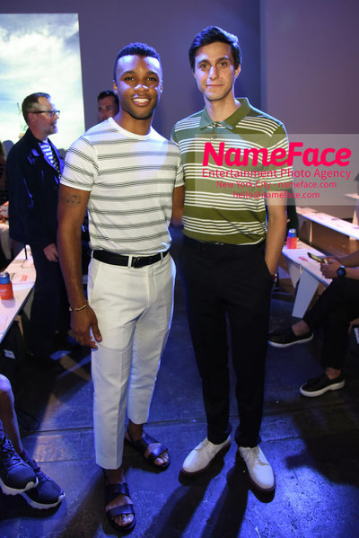 Todd Snyder Runway Show SS19 - Mens News York Fashion Week Dyllon Burnside and Gideon Glick - NameFace Photo Agency New York City - hello@nameface.com - nameface.com - Photo by Daniela Kirsch