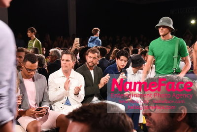Todd Snyder Runway Show SS19 - Mens News York Fashion Week Mike Doyle, Joshua Jackson and Alex Shibutani - NameFace Photo Agency New York City - hello@nameface.com - nameface.com - Photo by Daniela Kirsch