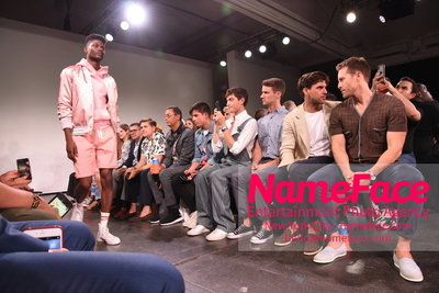 Todd Snyder Runway Show SS19 - Mens News York Fashion Week Model - NameFace Photo Agency New York City - hello@nameface.com - nameface.com - Photo by Daniela Kirsch
