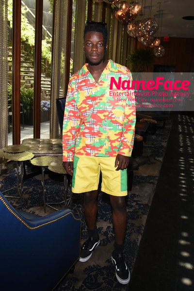 Romeo Hunte SS19 Runway Show - Front Row Rapper Thutmose - NameFace Photo Agency New York City - hello@nameface.com - nameface.com - Photo by Daniela Kirsch