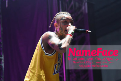 The Greatest Day Ever Music Festival and Carnival - First Day Rapper Lil Skies - NameFace Photo Agency New York City - hello@nameface.com - nameface.com - Photo by Daniela Kirsch