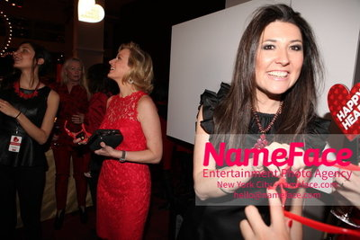 Womans Day Red Dress Awards to benefit the American Heart Associations Go Red For Women 2014 Capera Ryan - NameFace Photo Agency New York City - hello@nameface.com - nameface.com - Photo by