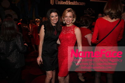 Womans Day Red Dress Awards to benefit the American Heart Associations Go Red For Women 2014 Capera Ryan and Guest - NameFace Photo Agency New York City - hello@nameface.com - nameface.com - Photo by