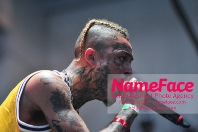 The Greatest Day Ever Music Festival and Carnival - First Day Lil Skies - NameFace Photo Agency New York City - hello@nameface.com - nameface.com - Photo by Daniela Kirsch