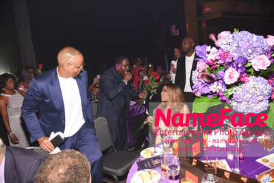 Wendy Williams Birthday Party and The Hunter Foundation Give Back Gala 2018 Johnny Gill and Wendy Williams - NameFace Photo Agency New York City - hello@nameface.com - nameface.com - Photo by Daniela Kirsch