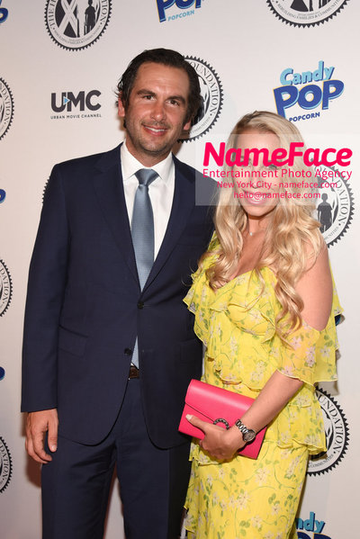Wendy Williams Birthday Party and The Hunter Foundation Give Back Gala 2018 Steven Fulop Mayor of Jersey City and wife Jaclyn Thompson - NameFace Photo Agency New York City - hello@nameface.com - nameface.com - Photo by Daniela Kirsch