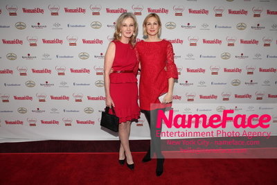 Womans Day Red Dress Awards to benefit the American Heart Associations Go Red For Women 2014 Caroline Lagerfelt and Kelly Rutherford - NameFace Photo Agency New York City - hello@nameface.com - nameface.com - Photo by