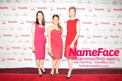 Womans Day Red Dress Awards to benefit the American Heart Associations Go Red For Women 2014 Guest, Sabrina Soto and Guest - NameFace Photo Agency New York City - hello@nameface.com - nameface.com - Photo by