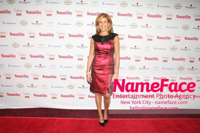 Womans Day Red Dress Awards to benefit the American Heart Associations Go Red For Women 2014 Hoda Kotb - NameFace Photo Agency New York City - hello@nameface.com - nameface.com - Photo by