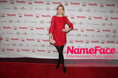 Womans Day Red Dress Awards to benefit the American Heart Associations Go Red For Women 2014 Kelly Rutherford - NameFace Photo Agency New York City - hello@nameface.com - nameface.com - Photo by