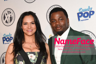 Wendy Williams Birthday Party and The Hunter Foundation Give Back Gala 2018 Sophia Adella Luke and Derek Luke - NameFace Photo Agency New York City - hello@nameface.com - nameface.com - Photo by Daniela Kirsch