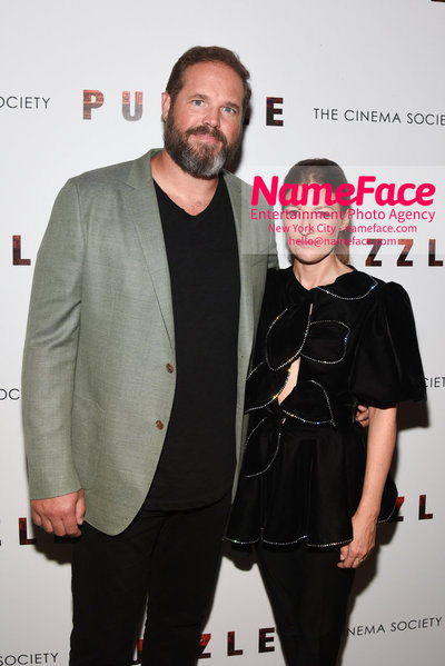 Sony Pictures Classics and The Cinema Society Special Screening of Puzzle David Denman and Kelly Macdonald - NameFace Photo Agency New York City - hello@nameface.com - nameface.com - Photo by Daniela Kirsch