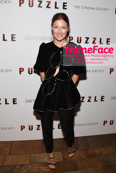 Sony Pictures Classics and The Cinema Society Special Screening of Puzzle Kelly Macdonald - NameFace Photo Agency New York City - hello@nameface.com - nameface.com - Photo by Daniela Kirsch