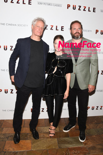 Sony Pictures Classics and The Cinema Society Special Screening of Puzzle Marc Turtletaub, Kelly Macdonald and David Denman - NameFace Photo Agency New York City - hello@nameface.com - nameface.com - Photo by Daniela Kirsch