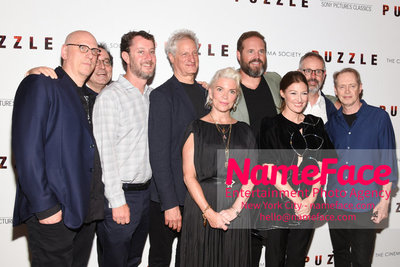 Sony Pictures Classics and The Cinema Society Special Screening of Puzzle The cast - NameFace Photo Agency New York City - hello@nameface.com - nameface.com - Photo by Daniela Kirsch