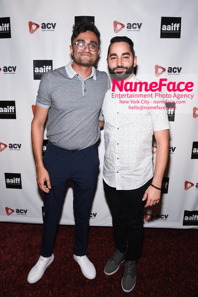 Opening Night Screening of Searching at the 41st Asian American International Film Festival Aneesh Chaganty and Sev Ohanian - NameFace Photo Agency New York City - hello@nameface.com - nameface.com - Photo by Daniela Kirsch
