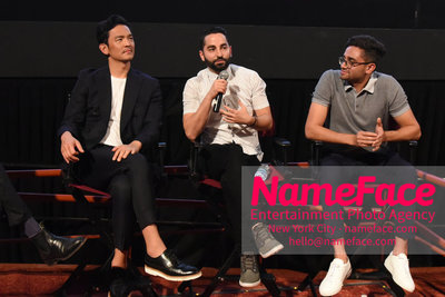 Opening Night Screening of Searching at the 41st Asian American International Film Festival John Cho, Sev Ohanian and Aneesh Chaganty - NameFace Photo Agency New York City - hello@nameface.com - nameface.com - Photo by Daniela Kirsch