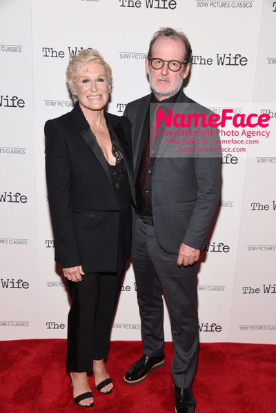 Special New York Screening of The Wife hosted by Sony Pictures Classics Glenn Close and Bjorn Runge - NameFace Photo Agency New York City - hello@nameface.com - nameface.com - Photo by Daniela Kirsch