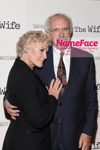 Special New York Screening of The Wife hosted by Sony Pictures Classics Glenn Close and Jonathan Price - NameFace Photo Agency New York City - hello@nameface.com - nameface.com - Photo by Daniela Kirsch