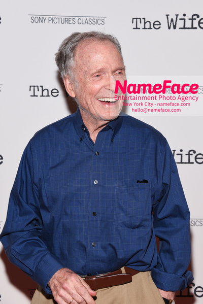Special New York Screening of The Wife hosted by Sony Pictures Classics Dick Cavett - NameFace Photo Agency New York City - hello@nameface.com - nameface.com - Photo by Daniela Kirsch