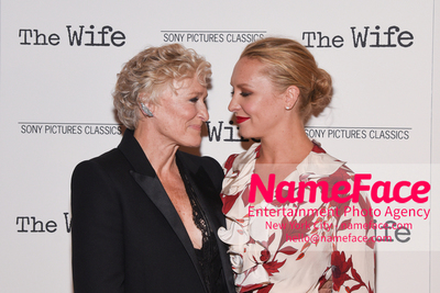 Special New York Screening of The Wife hosted by Sony Pictures Classics Glenn Close and daughter Annie Starke - NameFace Photo Agency New York City - hello@nameface.com - nameface.com - Photo by Daniela Kirsch