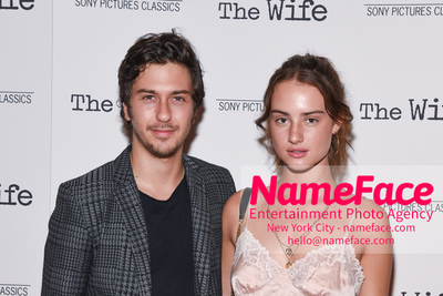 Special New York Screening of The Wife hosted by Sony Pictures Classics Nat Wolff and Grace Van Patten - NameFace Photo Agency New York City - hello@nameface.com - nameface.com - Photo by Daniela Kirsch