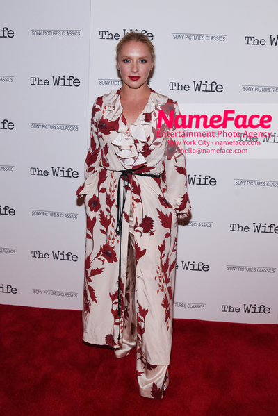 Special New York Screening of The Wife hosted by Sony Pictures Classics Annie Starke - NameFace Photo Agency New York City - hello@nameface.com - nameface.com - Photo by Daniela Kirsch