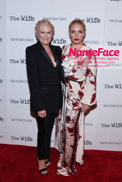 Special New York Screening of The Wife hosted by Sony Pictures Classics Glenn Close and Annie Starke - NameFace Photo Agency New York City - hello@nameface.com - nameface.com - Photo by Daniela Kirsch