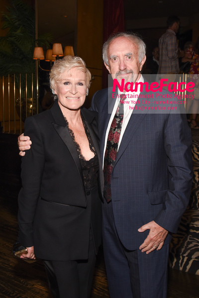 Special New York Screening of The Wife hosted by Sony Pictures Classics - After Party Glenn Close and Jonathan Pryce - NameFace Photo Agency New York City - hello@nameface.com - nameface.com - Photo by Daniela Kirsch