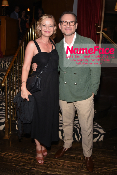 Special New York Screening of The Wife hosted by Sony Pictures Classics - After Party Samantha Mathis and Christian Slater - NameFace Photo Agency New York City - hello@nameface.com - nameface.com - Photo by Daniela Kirsch
