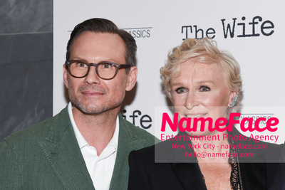 Special New York Screening of The Wife hosted by Sony Pictures Classics Christian Slater and Glenn Close - NameFace Photo Agency New York City - hello@nameface.com - nameface.com - Photo by Daniela Kirsch