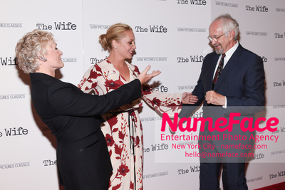 Special New York Screening of The Wife hosted by Sony Pictures Classics Glenn Close, Annie Starke and Jonathan Pryce - NameFace Photo Agency New York City - hello@nameface.com - nameface.com - Photo by Daniela Kirsch
