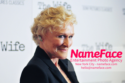 Special New York Screening of The Wife hosted by Sony Pictures Classics Glenn Close - NameFace Photo Agency New York City - hello@nameface.com - nameface.com - Photo by Daniela Kirsch
