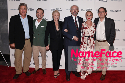 Special New York Screening of The Wife hosted by Sony Pictures Classics Tom Bernard, Christian Slater, Glenn Close, Jonathan Pryce, Annie Starke and Michael Barker - NameFace Photo Agency New York City - hello@nameface.com - nameface.com - Photo by Daniela Kirsch