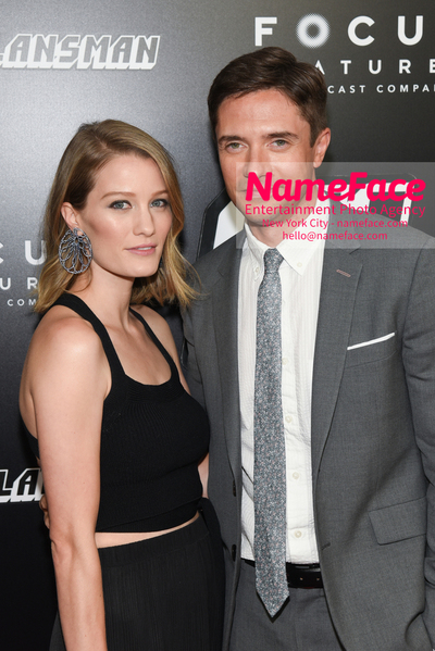 New York Premiere of BlacKkKlansman Ashley Hinshaw and Topher Grace - NameFace Photo Agency New York City - hello@nameface.com - nameface.com - Photo by Daniela Kirsch