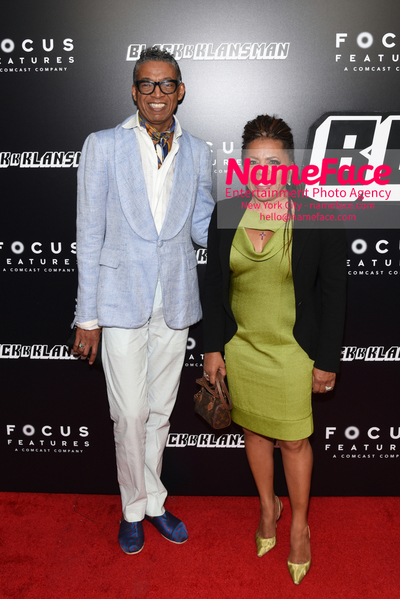 New York Premiere of BlacKkKlansman B. Michael and Valerie Simpson - NameFace Photo Agency New York City - hello@nameface.com - nameface.com - Photo by Daniela Kirsch