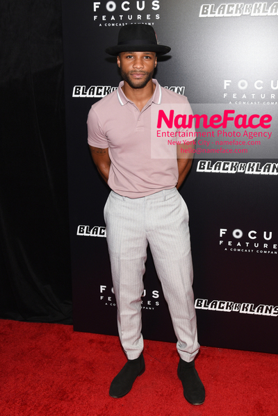 New York Premiere of BlacKkKlansman Dyllon Burnside - NameFace Photo Agency New York City - hello@nameface.com - nameface.com - Photo by Daniela Kirsch