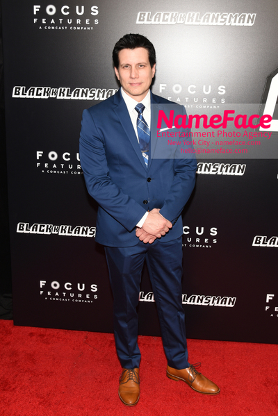 New York Premiere of BlacKkKlansman Ken Garito - NameFace Photo Agency New York City - hello@nameface.com - nameface.com - Photo by Daniela Kirsch