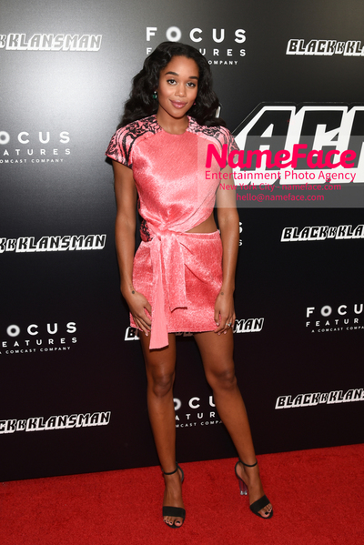 New York Premiere of BlacKkKlansman Laura Harrier - NameFace Photo Agency New York City - hello@nameface.com - nameface.com - Photo by Daniela Kirsch
